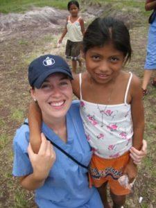 Kelly Pfeiffer in Guatemala